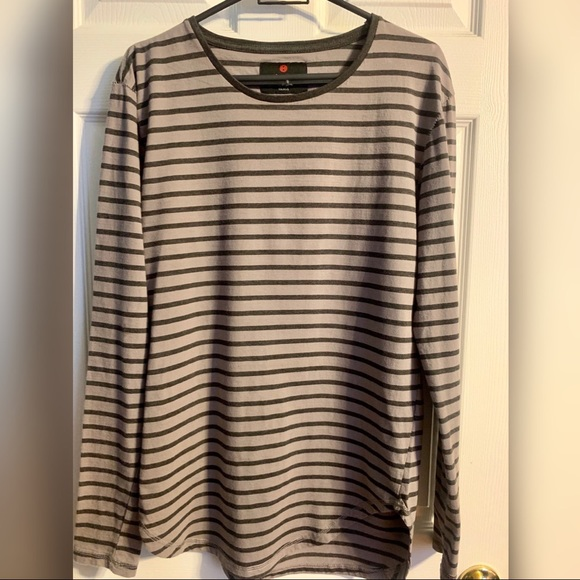 Cotton On Other - Cotton on striped long sleeve grey/black